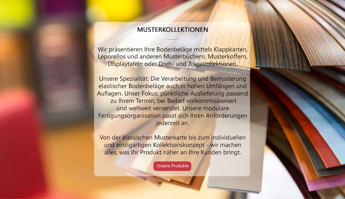 MUSTERKOLLEKTION DE